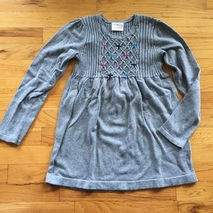Girls 140 Hanna Andersson Sweater Dress